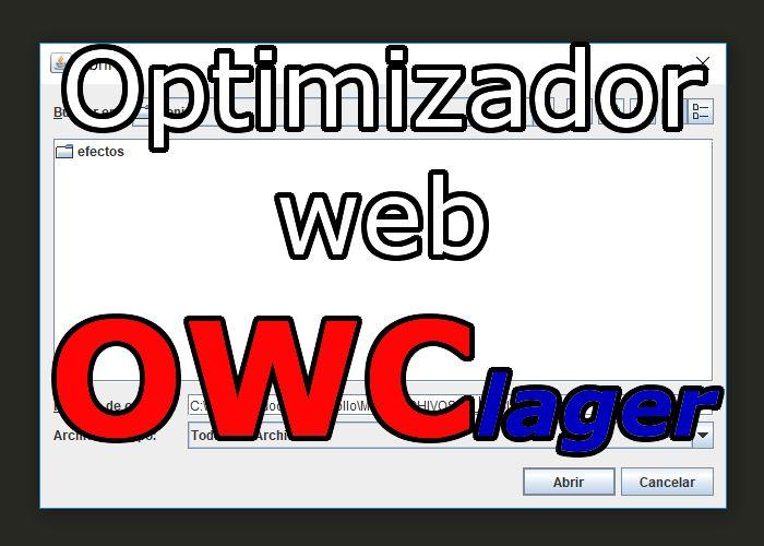 OWClager optimizador de código web